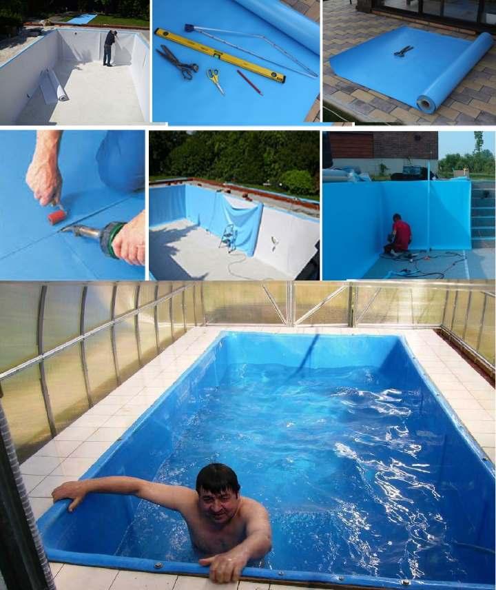 Стройка бассейна пошагово