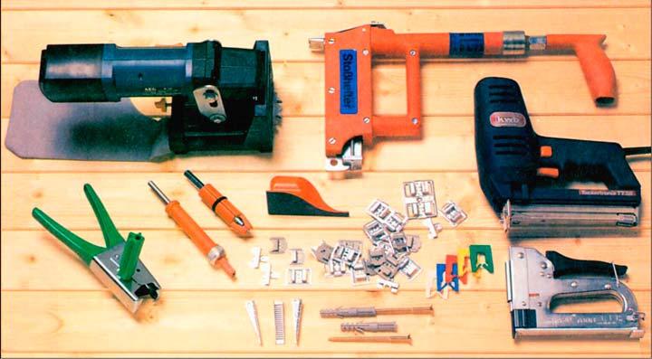 Инструменты для монтажа дома из досок