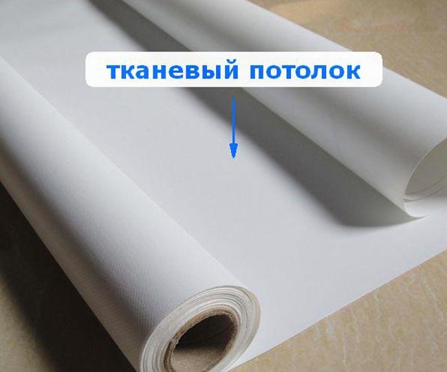 Ткань для натяжного потолка