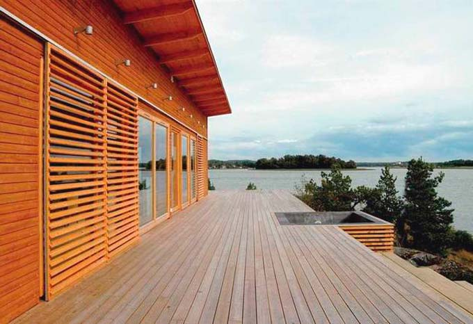 Основные преимущества деревянного сайдинга
