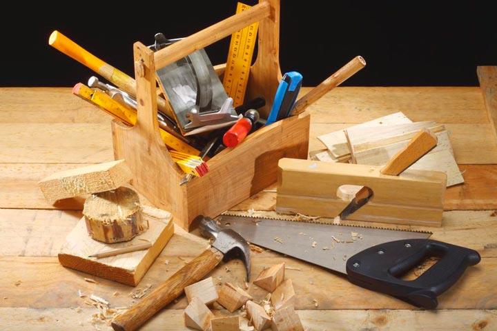 Инструменты для строительства ступеней