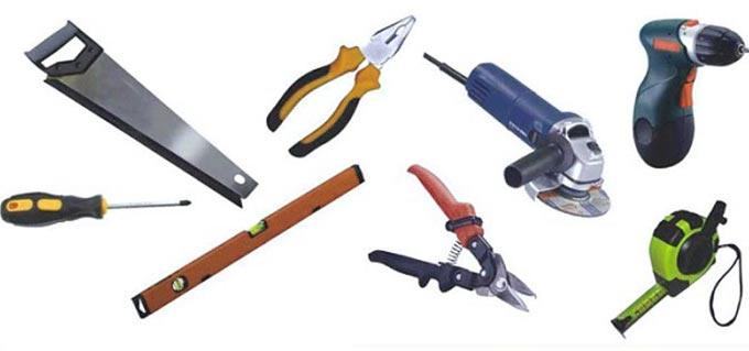Инструменты для навеса