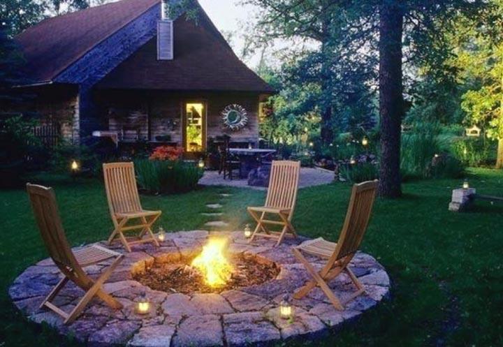 Дизайн места для пикника