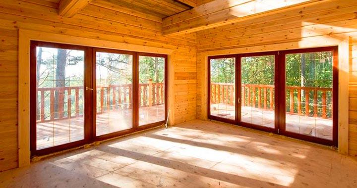 Французские окна обычно планируются еще на этапе проектирования дома