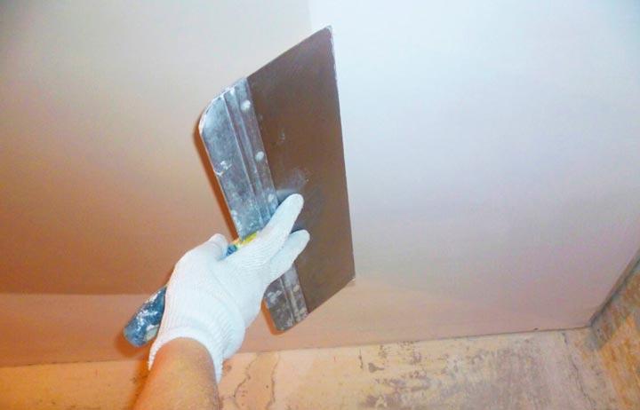 Подготовка стен перед нанесением бетоноконтакта