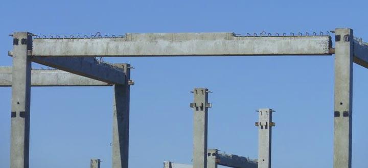 Ригель при строительстве многоэтажного дома