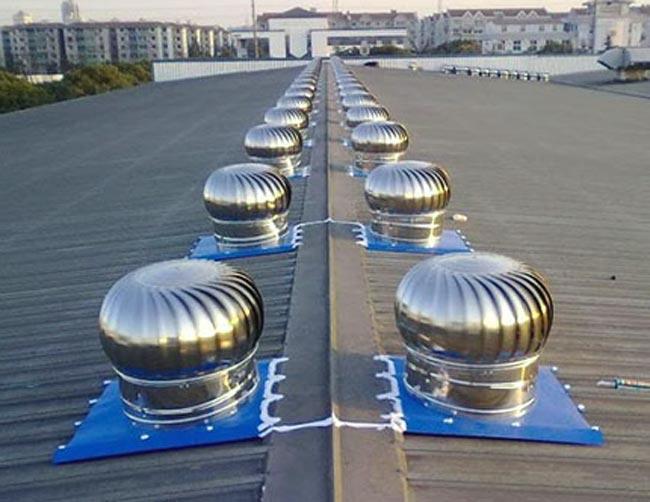 Вентиляционный ротационный дефлектор