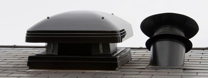 Виды вентиляционных дефлекторов по форме