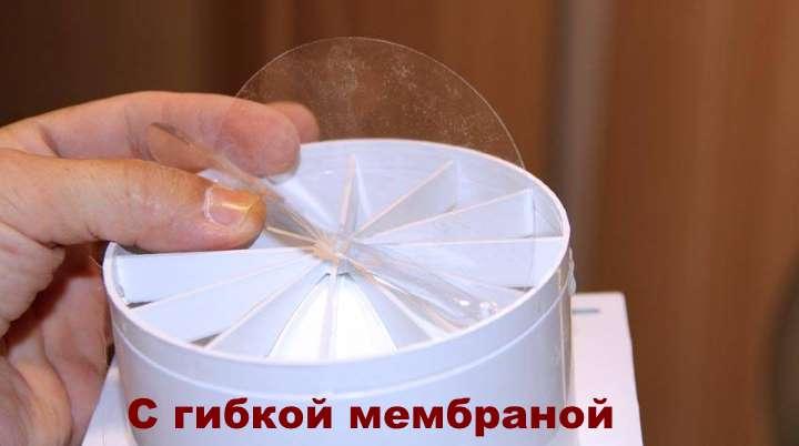 Мембранный обратный клапан вентиляции