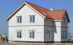 Дом из пеноблоков