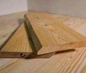 Планкен для внешней отделки деревянного дома