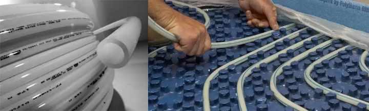 Трубы из полипропилена для водяного теплого пола