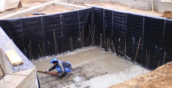 Обустройство гидроизоляции подвала при строительстве подвала