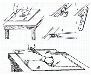 Схемы работы со стеклом