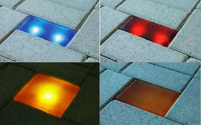 Виды светящихся элементов