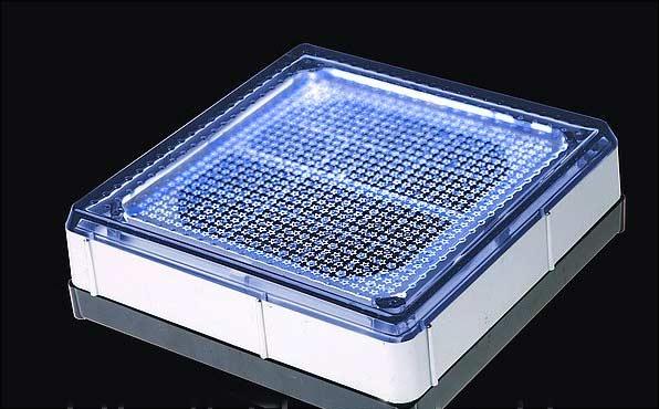 Плитка на солнечной батарее