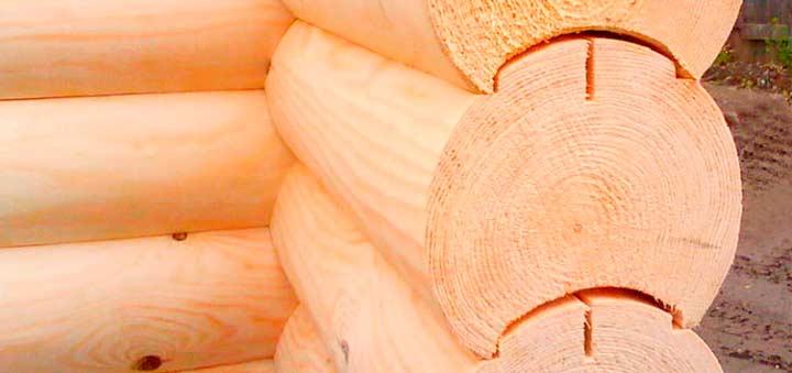 Особенности строительства клееным бревном