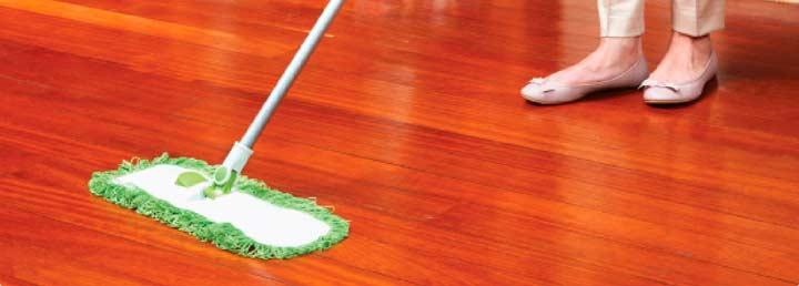 Легкость уборки - характеристика деревянного пола
