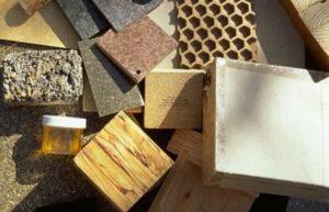 Различные виды материалов