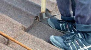 Обувь для монтажа композитной черепицы