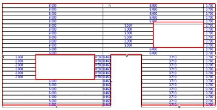 План стены для цокольного сайдинга
