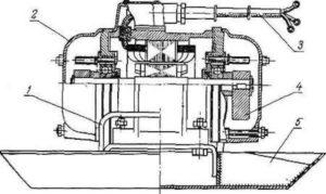 чертежи вибродвигателя