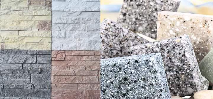 Виды декоративного камня - Акриловый