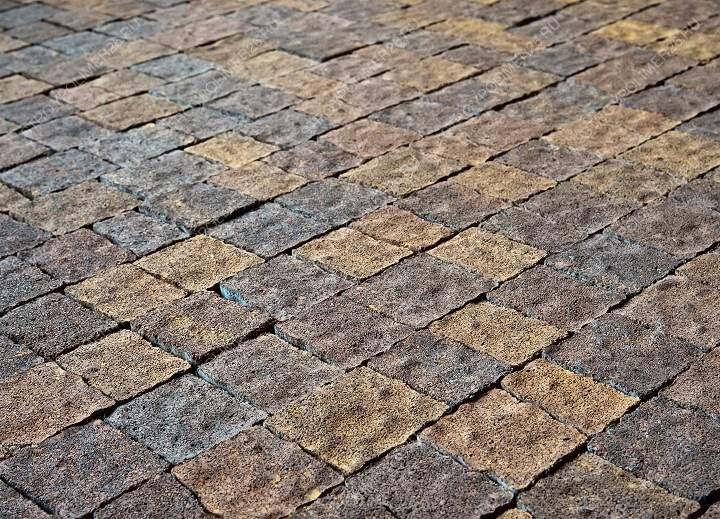 Виды тротуарной плитки - брусчатка