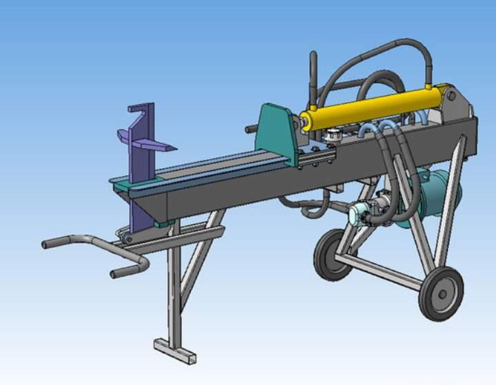 Модель дровокола