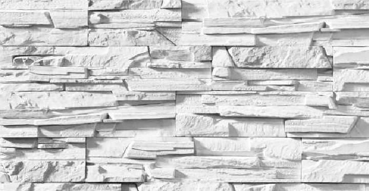 Виды декоративного камня - гипсовый