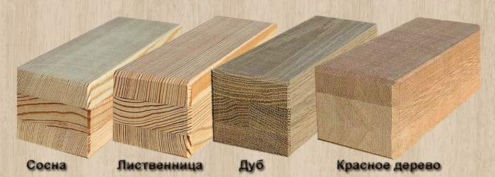 4 породы дерева под брус