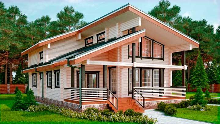 Долговечность домов из бруса,как сохранить?