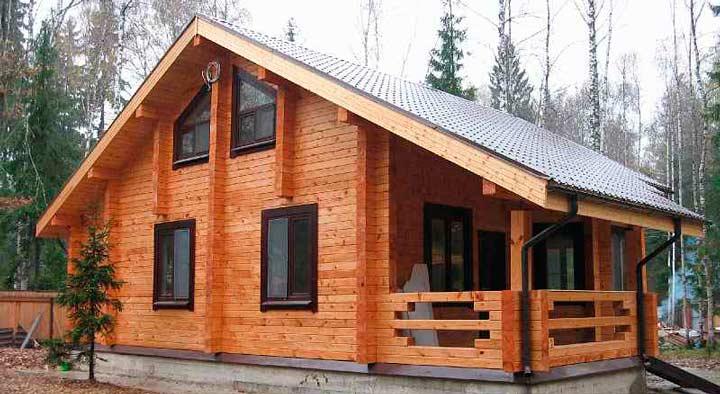 Выбор материала для деревянного дома