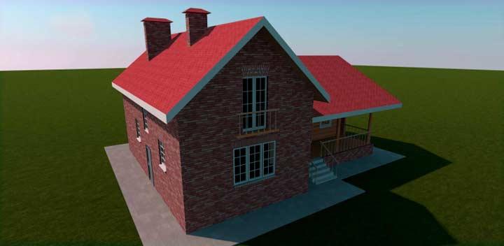 Строительство кирпичного пристроя к дому