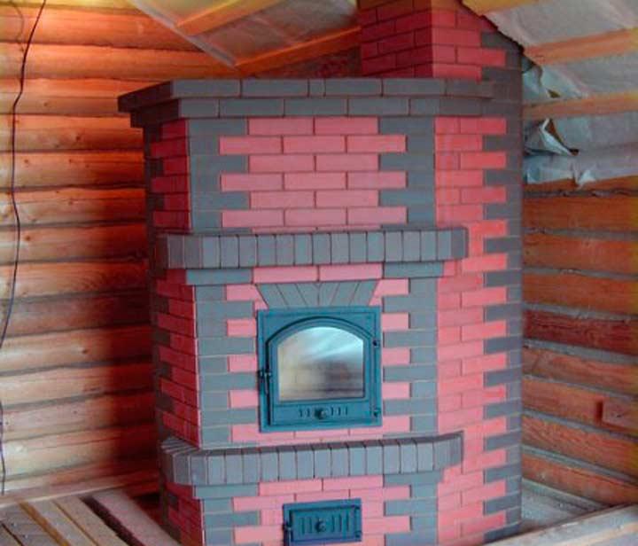 Строительство печи для двухэтажного дома
