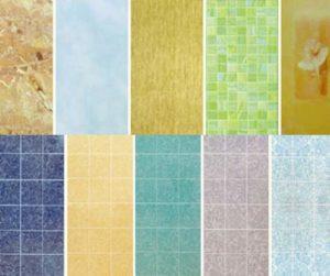Варианты расцветок пвх панелей