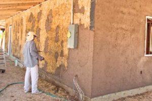 Оштукатуривание деревянной поверхности
