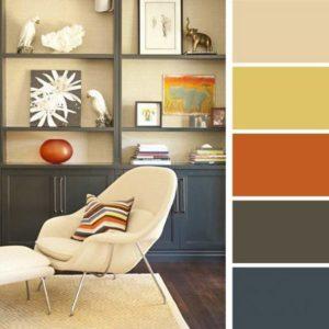 Цветовая палитра для комнаты