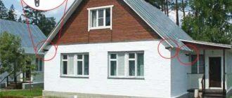 Частный дом с камерами