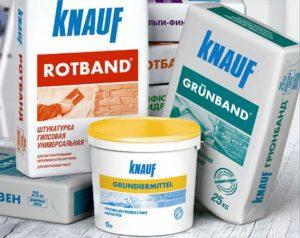 Варианты продукции Кнауф