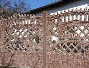 Штакетник из бетона цена бетона б25 в москве