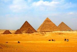 Несколько пирамид в Египте