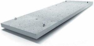 Плоский вид плит