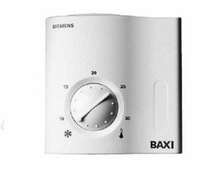 Механический вид термостата для дома