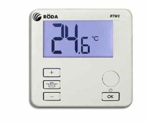 Электронный вид термостата для дома