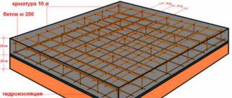 Как устроена плита-фундамент