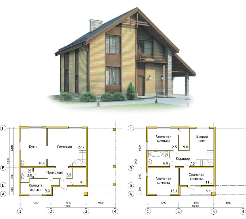 какой проект выбрать для каркасного дома