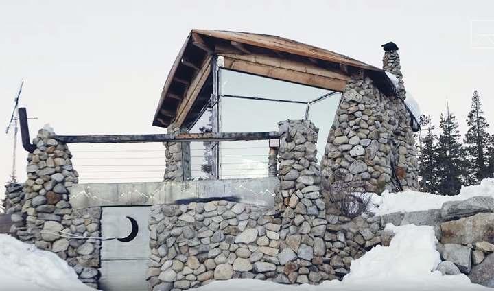 7 место: Эко-дом для сноубордиста