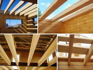 4 фото деревянных балок