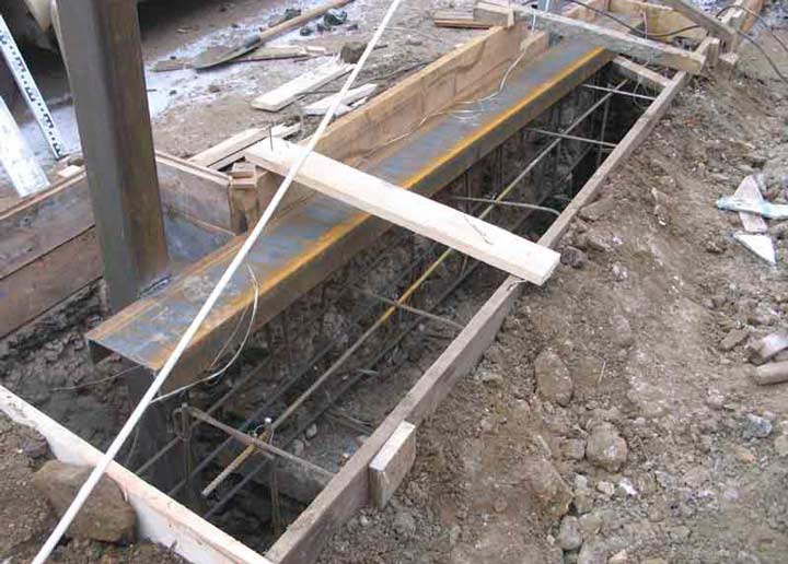 Этап по монтажу откатных ворот